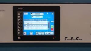 Touch Panel Schneiden im Programm